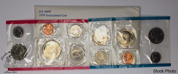 United States: 1979 Uncirculated Coin Set