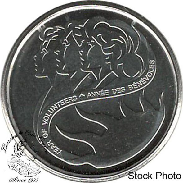 Canada: 2001 10 Cent Volunteer BU