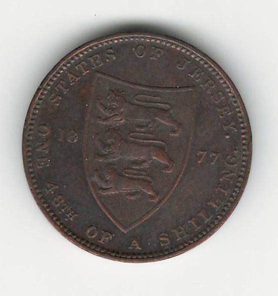 Jersey: 1877H 1/48 Shilling