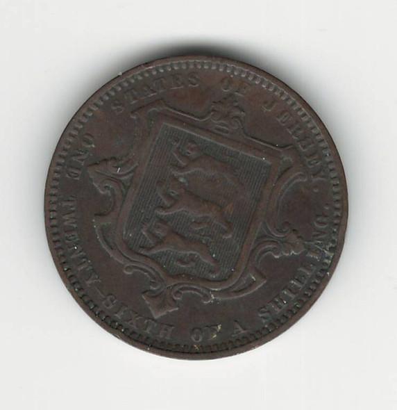 Jersey: 1870 1/26 Shilling