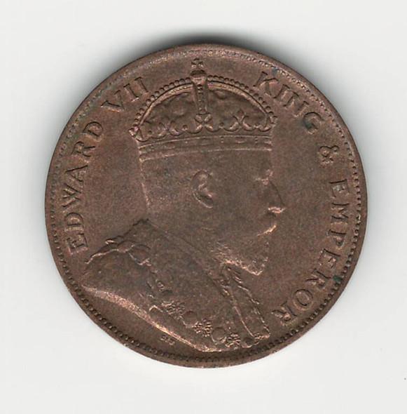 Jersey: 1909 1/24 Shilling