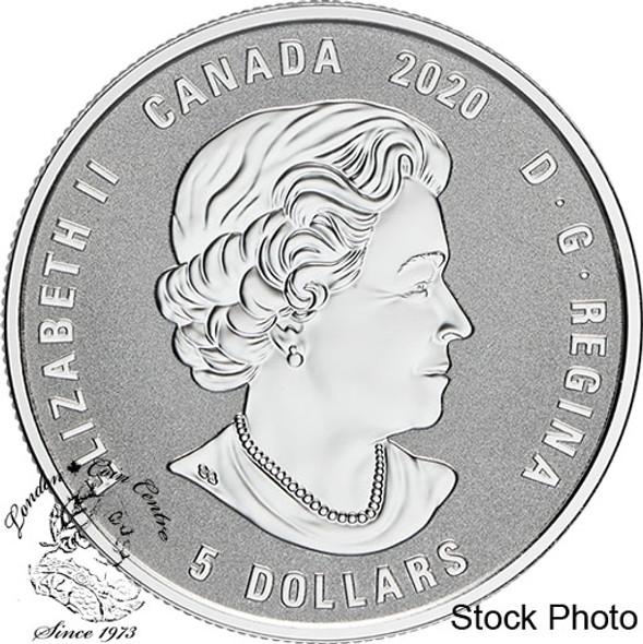 Canada: 2020 $5 Birthstones: July Fine Silver Coin
