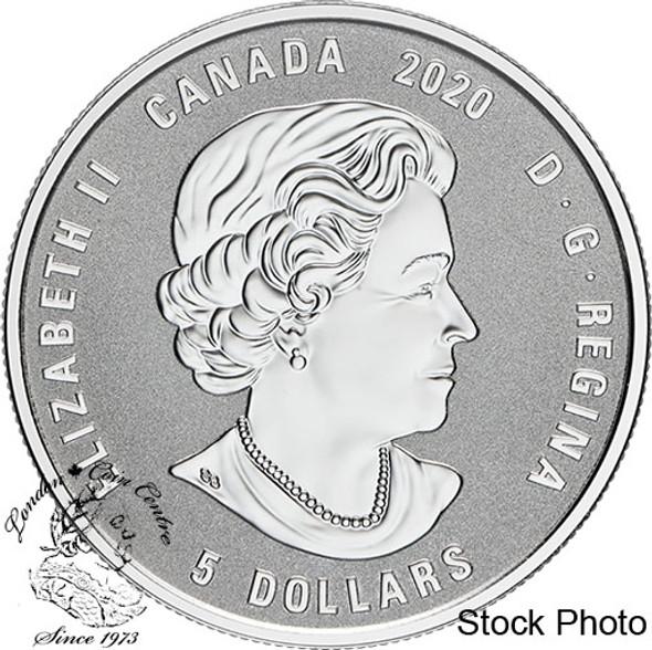 Canada: 2020 $5 Birthstones: August Fine Silver Coin