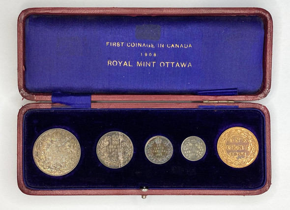 Canada: 1908 Specimen Coin Set