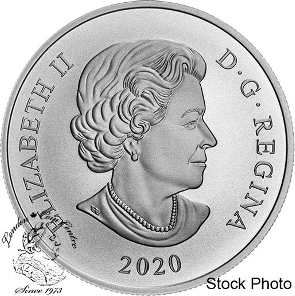 Canada: 2020 $20 Her Majesty The Queen Elizabeth II's Brazilian Aquamarine Tiara 1 oz Pure Silver Coin