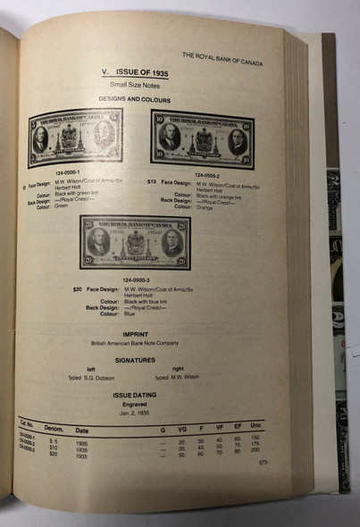Charlton Standard Catalogue of Canadian Paper Money 1980, 1st Edition
