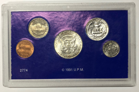 United States: 1964 Uncirculated Set Lot#2