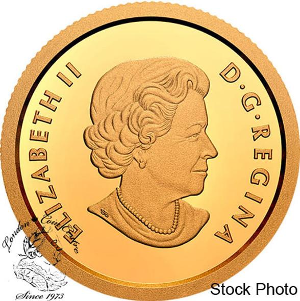 Canada: 2020 $10 An Inuk and a Qulliq 1/20th oz Pure Gold Coin