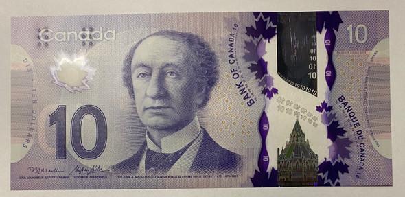 Canada: 2013 $10 Bank Of Canada Macklem-Poloz BC-70b