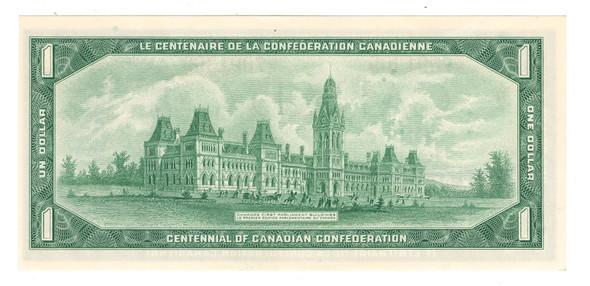 Canada: 1967 $1 Banknote Bank of Canada P/O