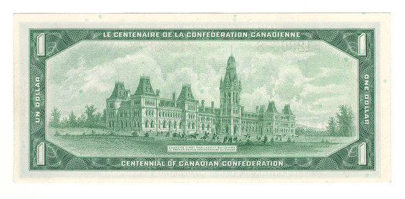 Canada: 1967 $1 Banknote Bank of Canada G/P Lot#2