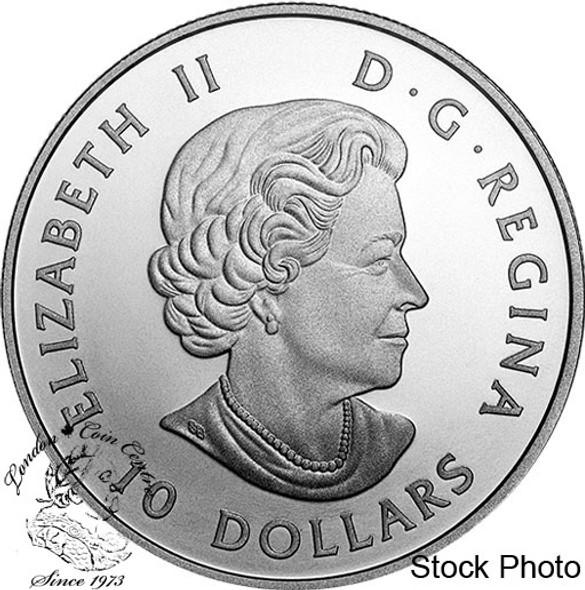Canada: 2020 $10 O Canada Series #3: Parliament of Canada 1/2 oz Pure Silver Coin