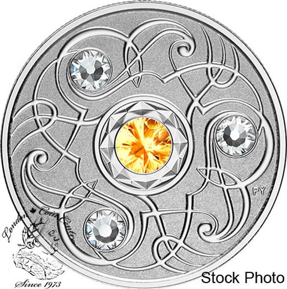 Canada: 2020 $5 Birthstones: November Fine Silver Coin
