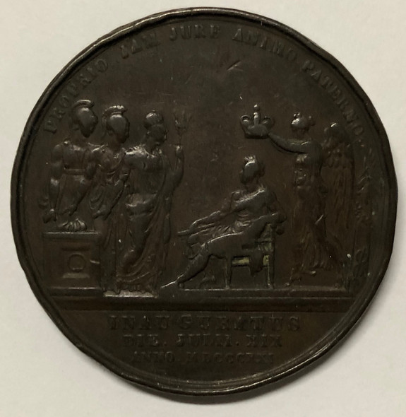 Great Britain: 1821 George IV Coronation Medal