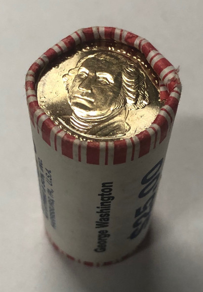 United States: 2007 George Washington Presidential Dollar Roll