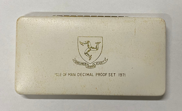 Isle of Man 1971 Coin Set