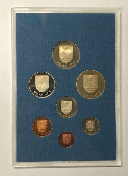 Gilbert Islands: 1979 Proof Coin Set (7 coins)