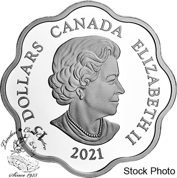 Canada: 2021 $15 Year of the Ox Lunar Lotus Pure Silver Coin