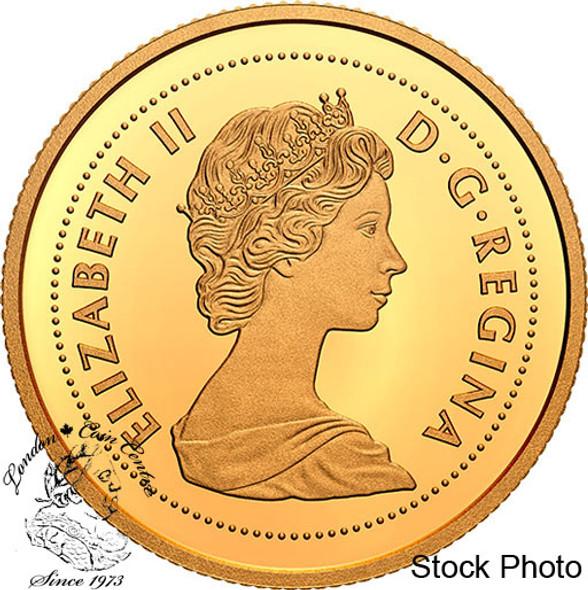Canada: 2020 $1 Tribute to Alex Colville: 1967 Dime 1/10th oz. Pure Gold Coin