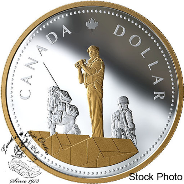 Canada: 2019 $1 Renewed Silver Dollar: Peacekeeping Masters Club 2 oz. Pure Silver Coin