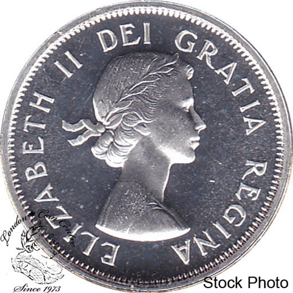 Canada: 1961 25 Cent Proof Like