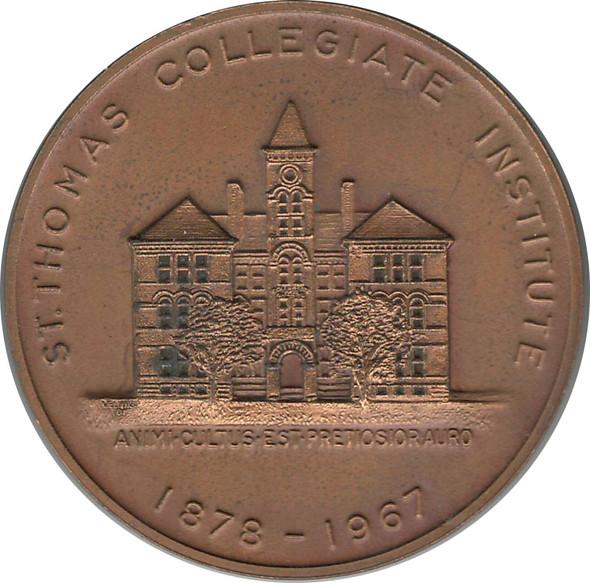 1867-1967 St Thomas Collegiate Institute Centennial Reunion