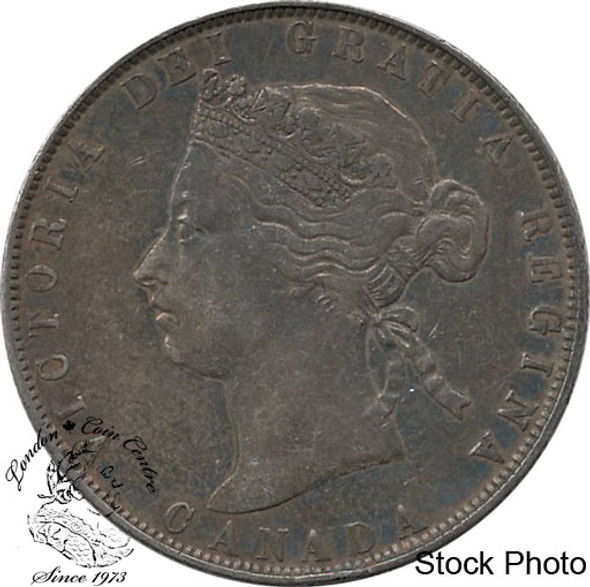 Canada: 1870 50 Cents LCW VF20