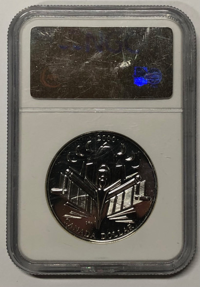 Canada: 2000 $1 Voyage of Discovery Silver Coin NGC MS68