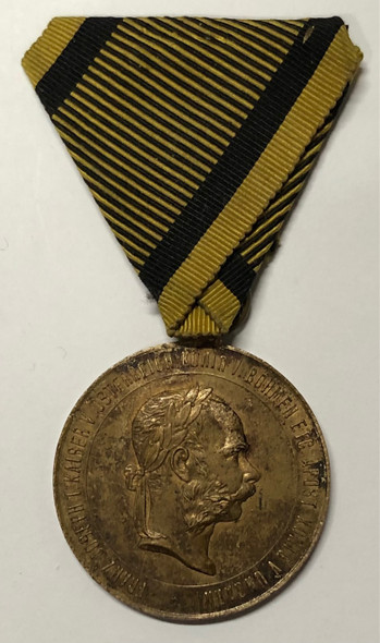 Austria: 1873 War Commemorative Medal