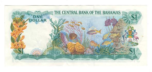 Bahamas: 1974 $1 Banknote Lot#2