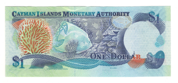 Cayman Islands: 2006 $1 Banknote P. 33d