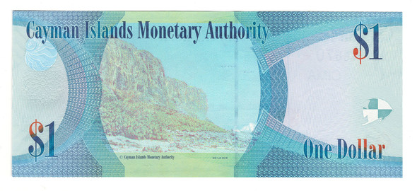 Cayman Islands: 2010 $1 Banknote P. 38a