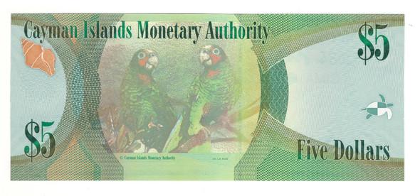 Cayman Islands: 2010 $5 Banknote P. 39