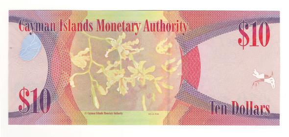 Cayman Islands: 2010 $10 Banknote P. 40