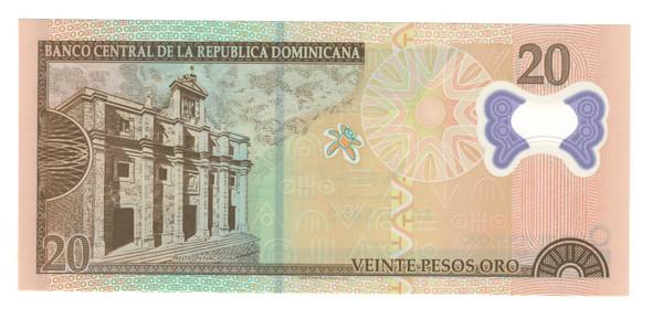 Dominican Republic: 2009 20 Pesos Banknote P. 182