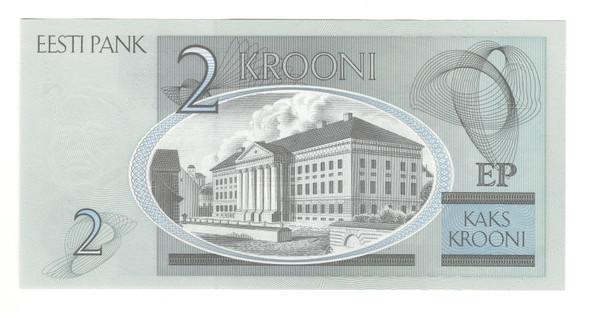 Estonia: 2006 2 Krooni Banknote P. 85a