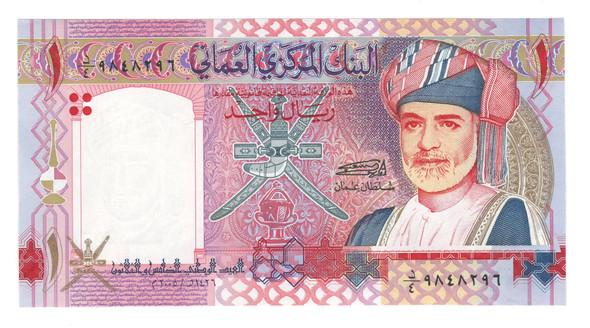 Oman: 2005 1 Rial Banknote P. 43