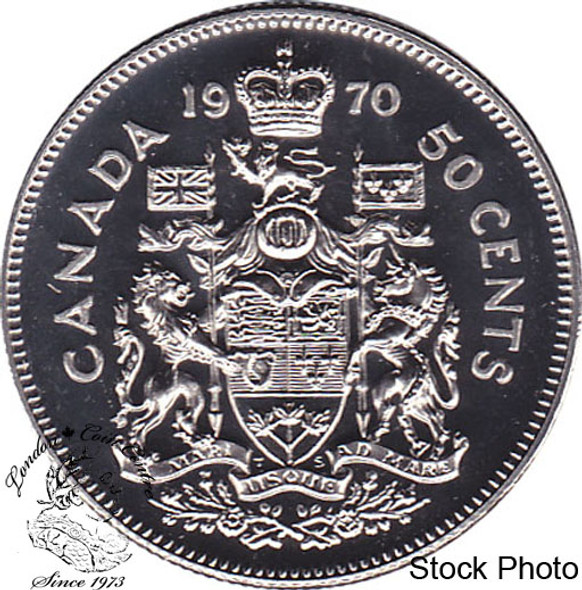 Canada: 1970 50 Cent Proof Like
