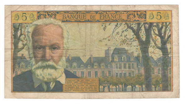 France: 1961 5 New Francs Banknote P141