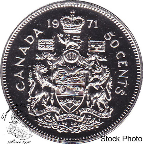 Canada: 1971 50 Cent Proof Like