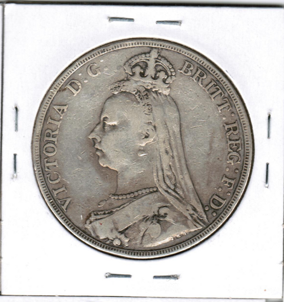 Great Britain: 1890 Silver Crown