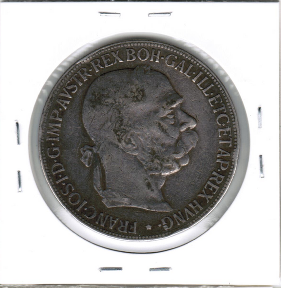 Austria: 1900 Silver 5 Corona