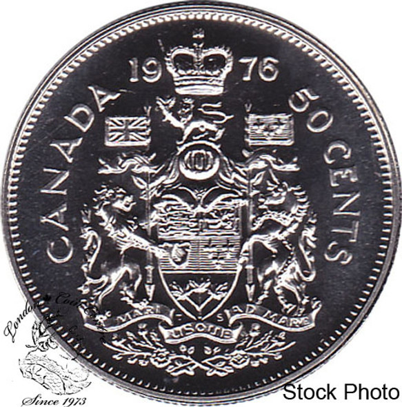 Canada: 1976 50 Cent Proof Like