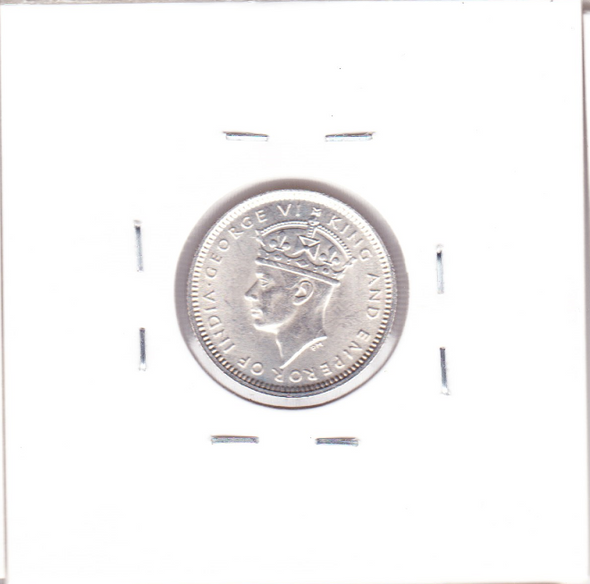 Malaya: 1941 Silver 10 Cents