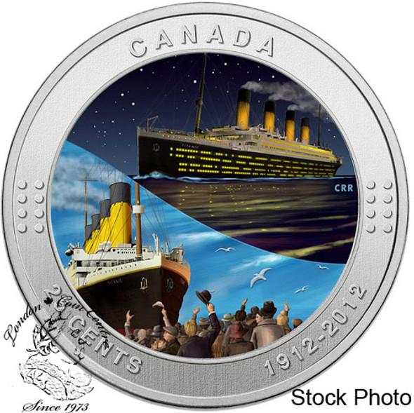 Canada: 2012 25 Cents RMS Titanic Coloured Coin