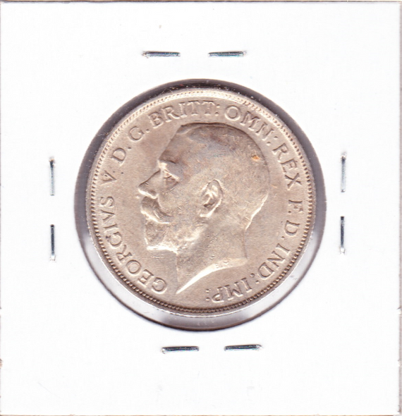 Great Britain: 1918 Silver Florin