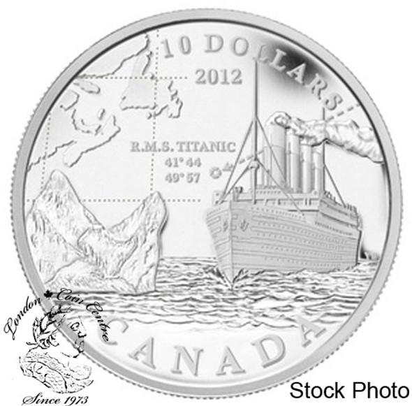 Canada: 2012 $10 R.M.S. Titanic Pure Silver Coin