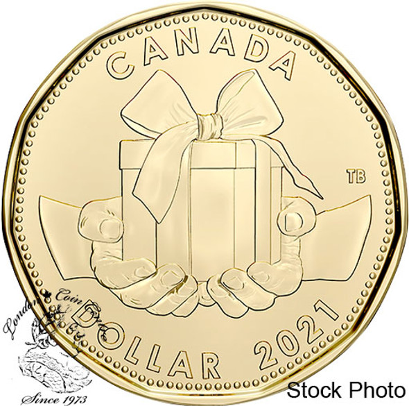 Canada: 2021 $1 Present Coin