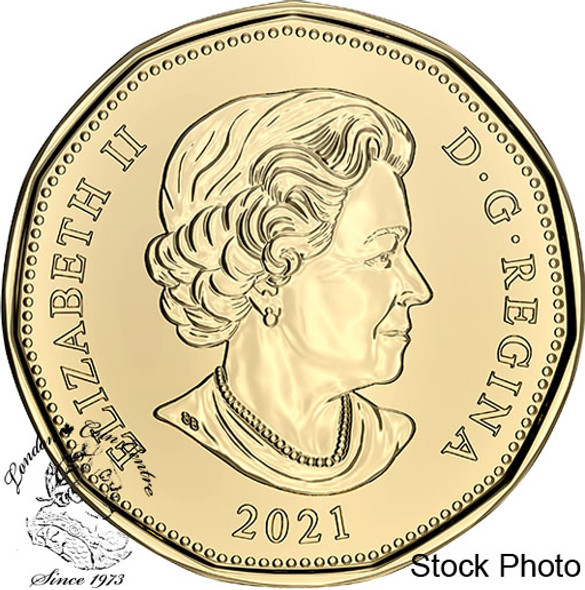 Canada: 2021 $1 Just Married Car Coin