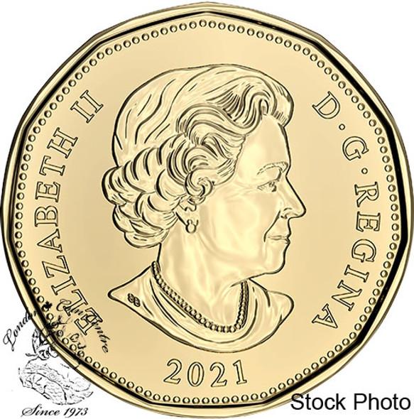 Canada: 2021 $1 Oh Canada Canadian Flag Coin